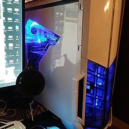 Amazon Com Skytech Archangel Gtx 1050 Ti Gaming Computer Desktop Pc Fx 6300 3 50 Ghz 6 Core Gtx 1050 Ti 4gb 8gb Ddr3 1tb Hdd 24x Dvd Wi Fi Usb Windows 10 Pro 64 Bit Fx6300