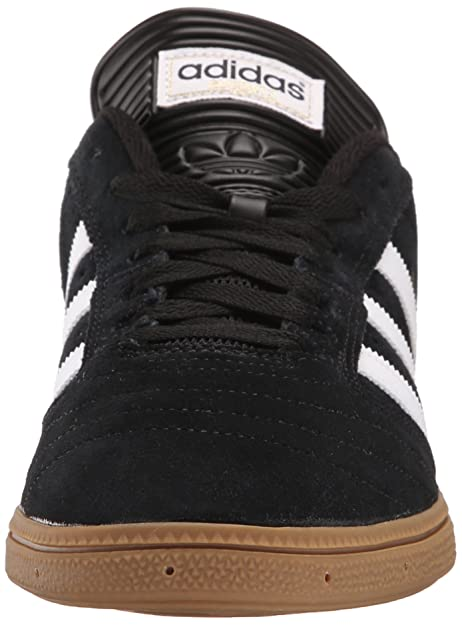 adidas Men's Busenitz Shoe, core Black, FTWR White, Gold met