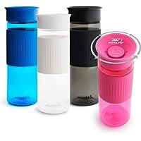 Munchkin Miracle 360 Agua a Prueba de derrames con caudal rápido, sin BPA Tritan Botella de Bebidas Deportivas, Unisex…