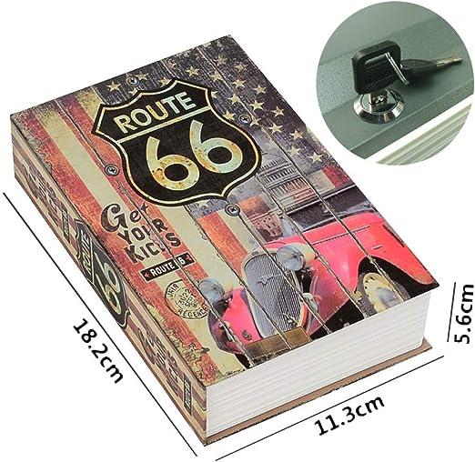 Caja Fuerte De Libros Libro Dinero Oculto Caja Fuerte con Forma De ...