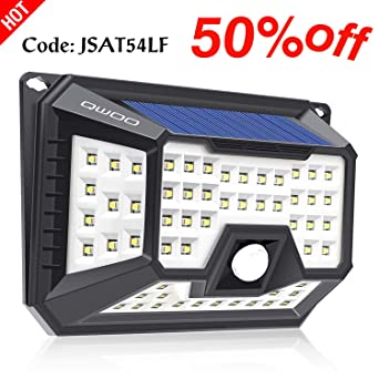 2 x 10LEDs Solarleuchte Außen mit Bewegungsmelder IP65 Solar Licht Beleuchtung