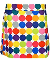Loudmouth Golf- Ladies Woodworth Collection Disco Balls Skort