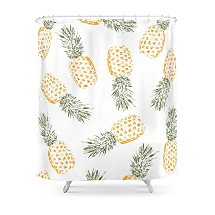 Society6 Pineapple Shower Curtain 71quot