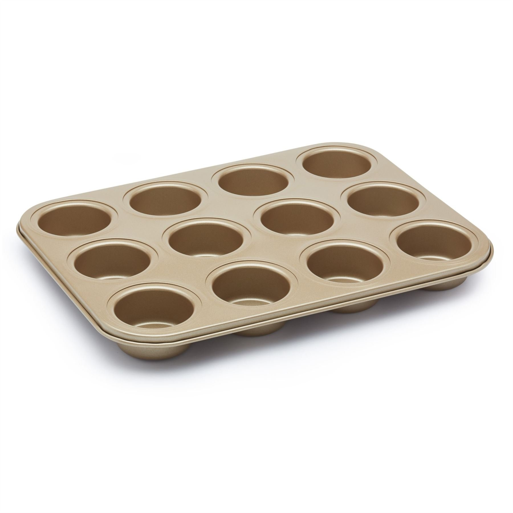 Paul Hollywood 12 Hole Deep Baking Pan, Non-stick by Kitchen Craft