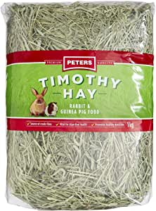 Timothy HAY USA Rabbit & Guinea Pig Food 1KG (PETERS) (MTH1)