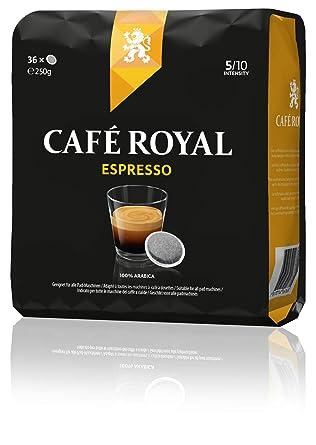f7299fc2c7 Café Royal Espresso, 180 Senseo kompatible Pads, 5er Pack (5 x 36 Pads