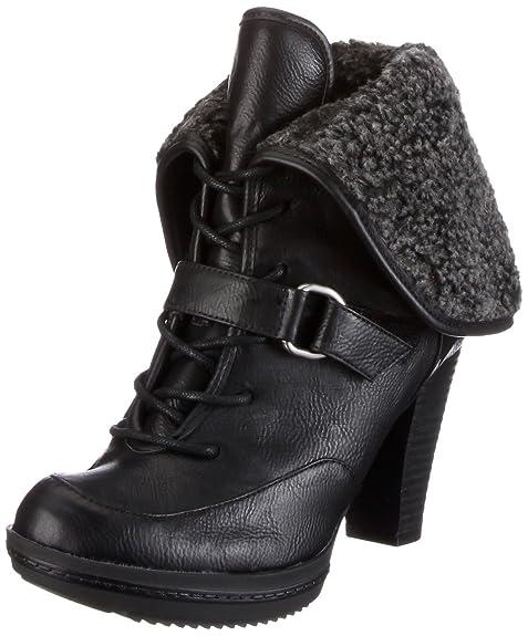 Naturalizer TYLA A1614S1900 - Botines fashion para mujer, color negro, talla 41: Amazon.es: Zapatos y complementos