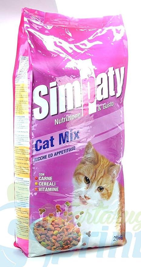 SIMPATY Cat Mix 20 kg Pienso para gatos Comida seco para gato