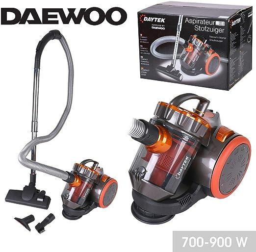 Aspiradora profesional Daewoo sin bolsa cilíndrica, compacta ...
