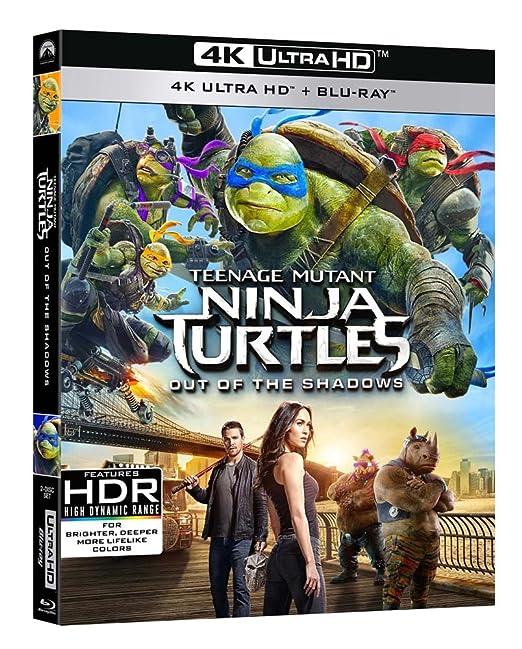 Tartarughe Ninja 2: Fuori dallOmbra 4K UltraHD + Blu-Ray ...