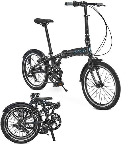 Sampa de Durban XL Bicicleta Plegable Shimano Negro para Bicicleta ...