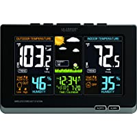 La Crosse Technology Wireless Atomic Digital Color Forecast Station with Alerts