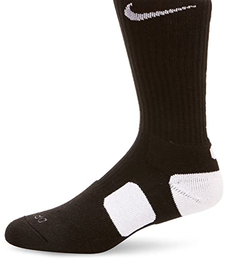 ee23ad0dc16 Image Unavailable. Image not available for. Color  Nike Elite Cushioned Crew  Basketball Socks - 1 Pair - Medium - Mens ...