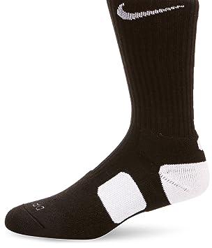 Nike Socken Elite Basketball Crew SMLX Calcetines, Unisex, Negro/Blanco (Black White), S: Amazon.es: Deportes y aire libre