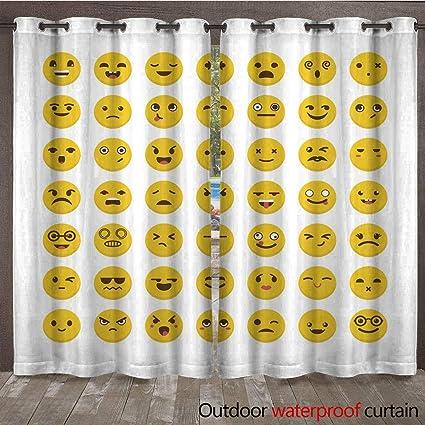 Amazon com : WinfreyDecor Home Patio Outdoor Curtain Set of