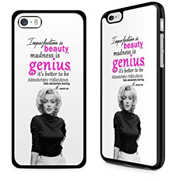 Attractive Gadget Zoo® Famous Quote Motivational Saying Marilyn Monroe  U0026quot;Imperfection Is Beautyu0026quot; Funny