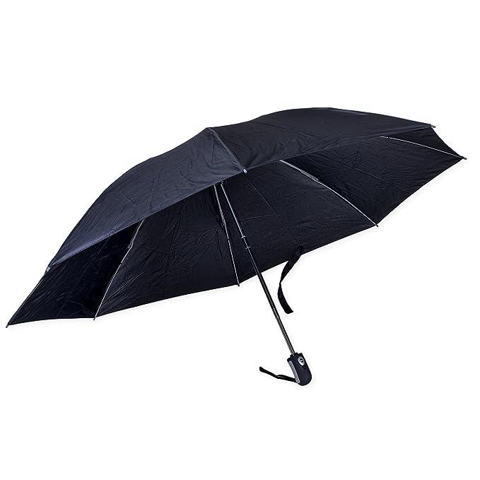 bc481df38c739 Revers-a-Brella Portable No-Drip Inverted Auto Open Close Compact Umbrella