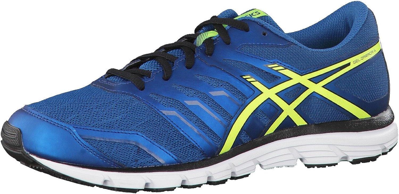 Asics - Zapatillas de Running para Hombre Azul Azul/Amarillo: Amazon.es: Zapatos y complementos
