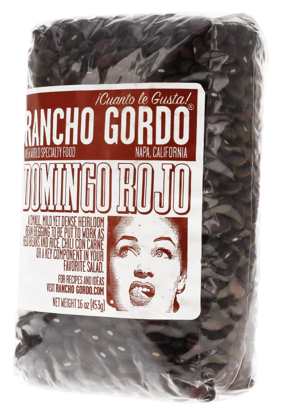 Amazon.com : Rancho Gordo Heirloom Beans - Alubia Blanca, 16 Ounces : Grocery & Gourmet Food