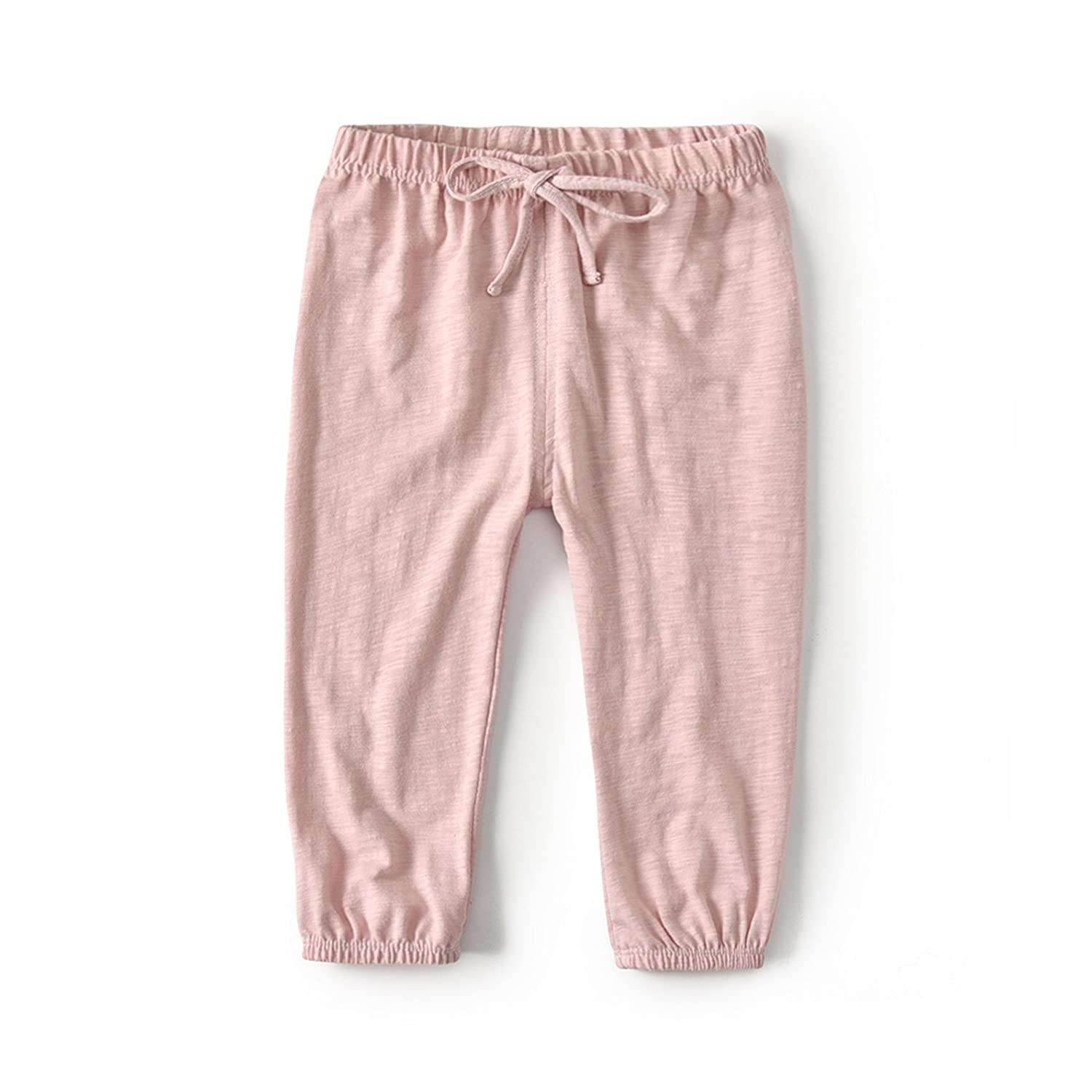1 Pack 2 Pack HUAER/& Unisex Baby Boys Girls Casual Pants Anti-Mosquito Pants