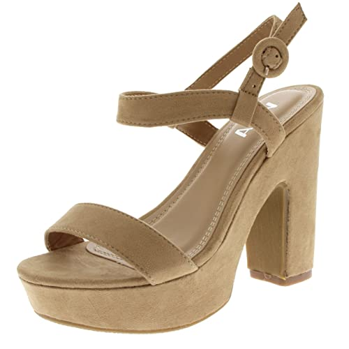 reputable site wholesale online buying cheap Womens Fashion Strappy Block Heel Platform Open Toe Sandals High ...