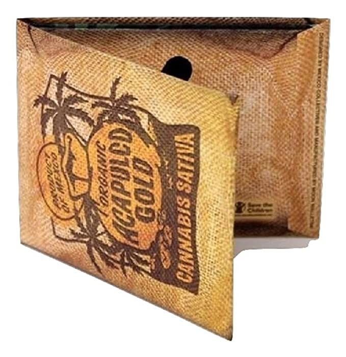 Mexico Collective Paper Wallets in multiple styles (Acapulco Gold) at Amazon Mens Clothing store: