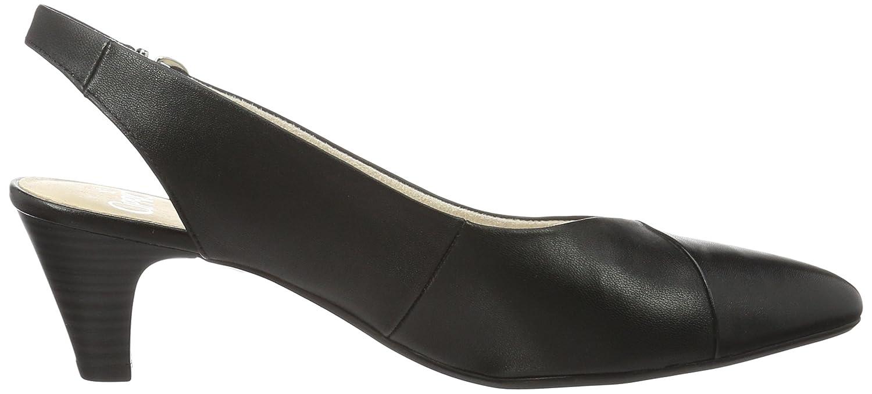 Black sandals ebay uk - 6 Uk Black Caprice Footwear Women S 29699