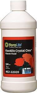 Floralife 82-22020 Floralife Crystal Clear Flower Food 300 Liquid, 500 ml/1 pt