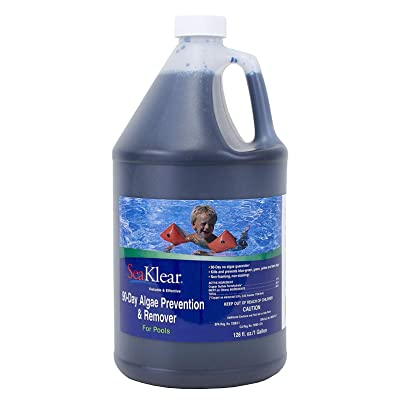 SeaKlear 90 Day Algae Prevention and Remover, 1-Gallon : Swimming Pool Algaecides : Garden & Outdoor