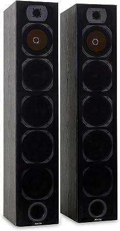 Skytronic SHFT57B Set de Altavoces 2x600W 4x16cm