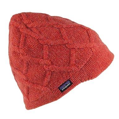 ef7c9130e15f5 Patagonia Hats Vanilla Merino Wool Beanie Hat - Red 1-Size  Amazon.co.uk   Clothing