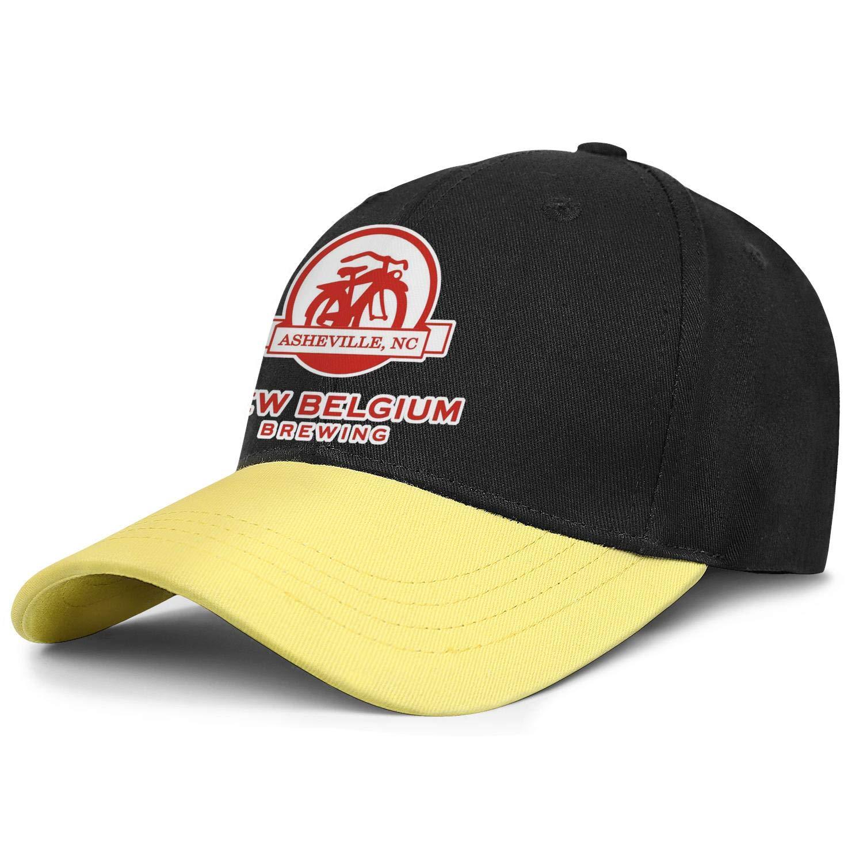 Adjustable Baseball Cap Curved Trucker Hat Cotton Coolcaps AbbottMacAdam Men New-Belgium-Brewing-.-Logo