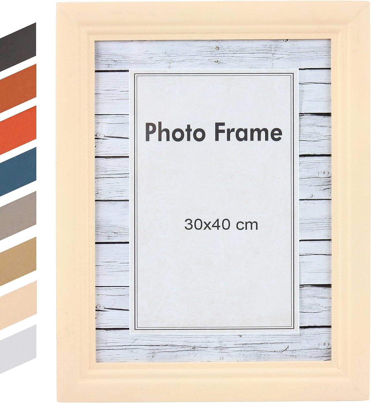 BRKZ13 Marco para Fotos Moderno en tama/ño 13 x 18 cm y Color Dorado Jago