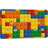 Lego blocs Design–Alimentation et interrupteur Crabtree Prise–Stickers autocollant en vinyle, Vinyle autoadhésif, 4306