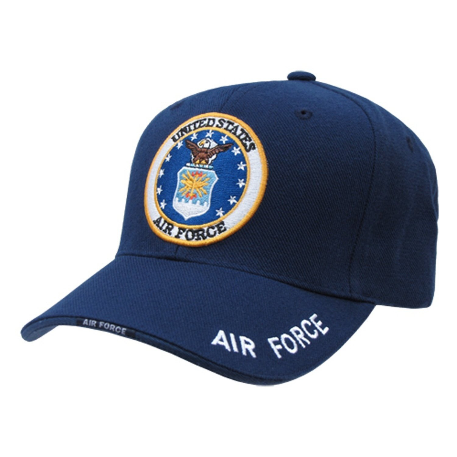 Amazon.com  United States US Air Force official seal design baseball cap   Sports   Outdoors a32d8be98fa