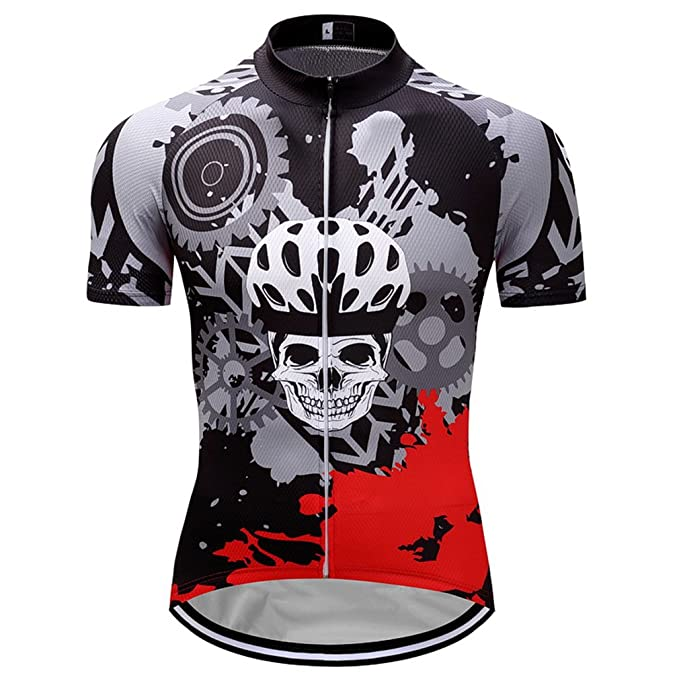 Amazon.com: Nawing - Camiseta de ciclismo para hombre ...