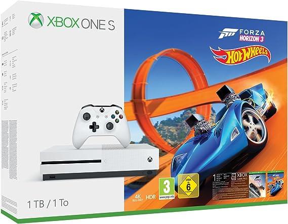 Xbox Una Consola s 1 TB - Forza Horizon 3 Hot Wheels Bundle ...