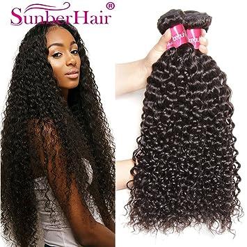 Amazon sunber hair brazilian virgin hair weaves brazilian sunber hair brazilian virgin hair weaves brazilian curly virgin hair 3 bundle 100 human pmusecretfo Images