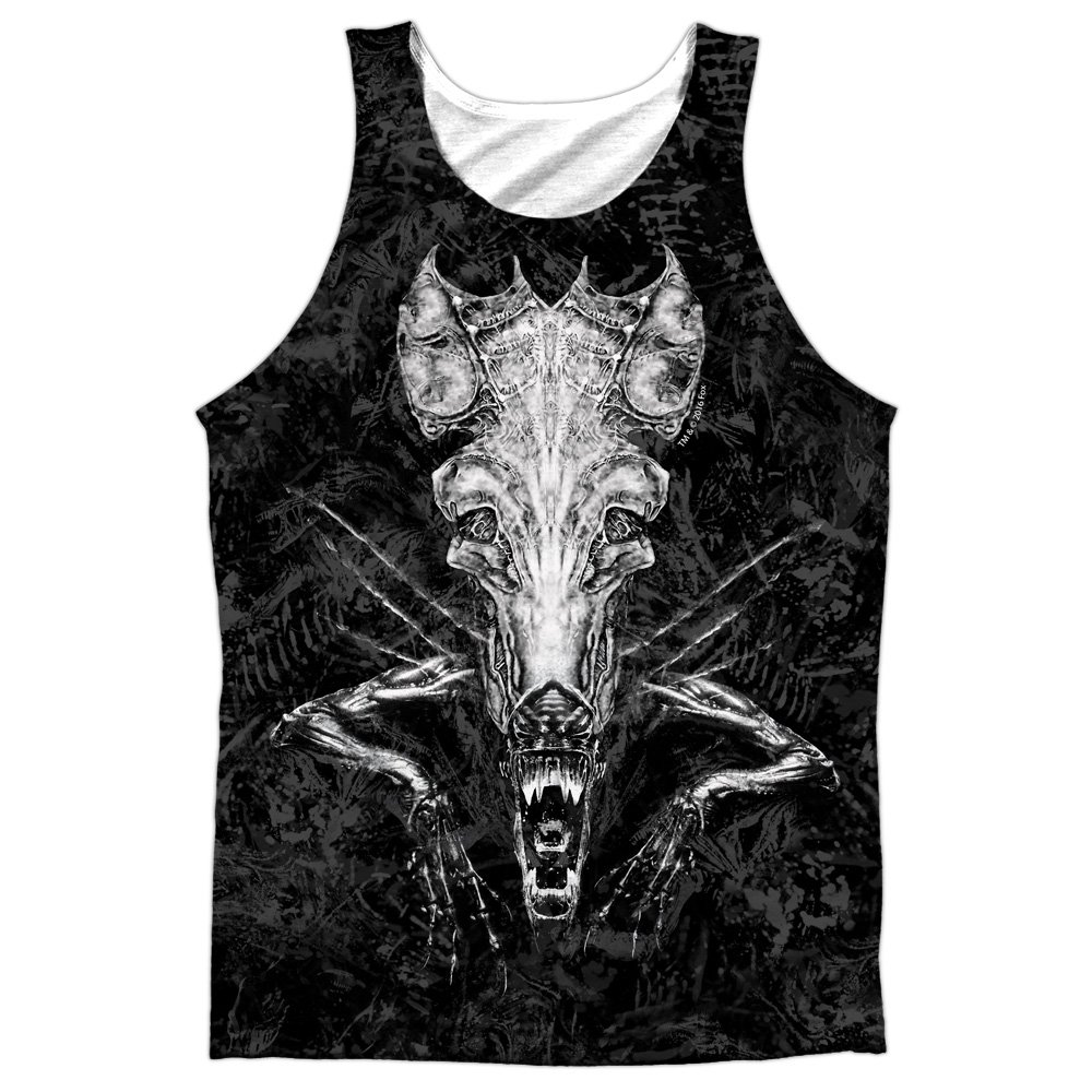 Alien Hive Mens Sublimation Polyester Tank Top Shirt Trevco