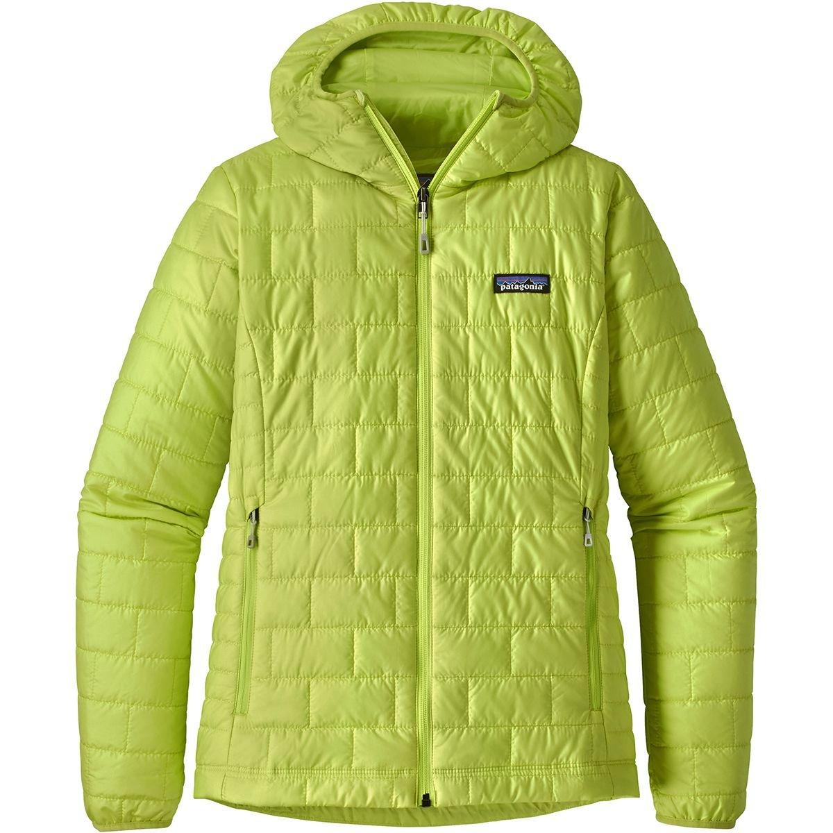Patagonia パタゴニア W's Nano Puff Hoody レディース ジャケット 防寒 (BLK):84227 B079K4891G X-Small|Celery Green Celery Green X-Small