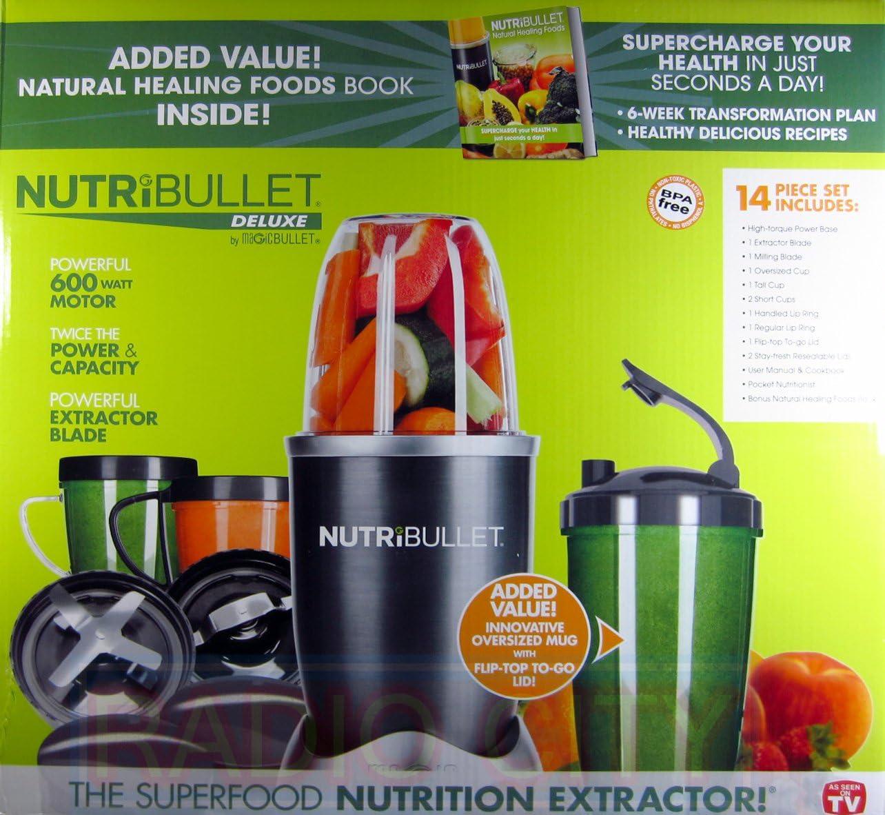 Nutribullet 14 Piece Nutrition Extractor 600W Blender