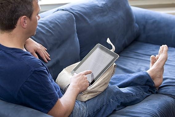 The Book Seat Atril de lectura, color gris,