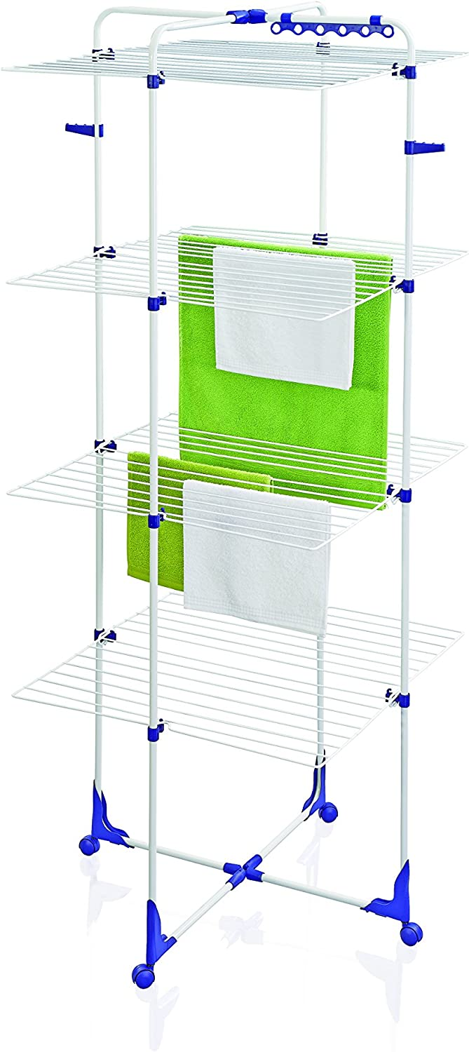 Leifheit 81454 Tower 270 Indoor Airer with 27 M Drying Space