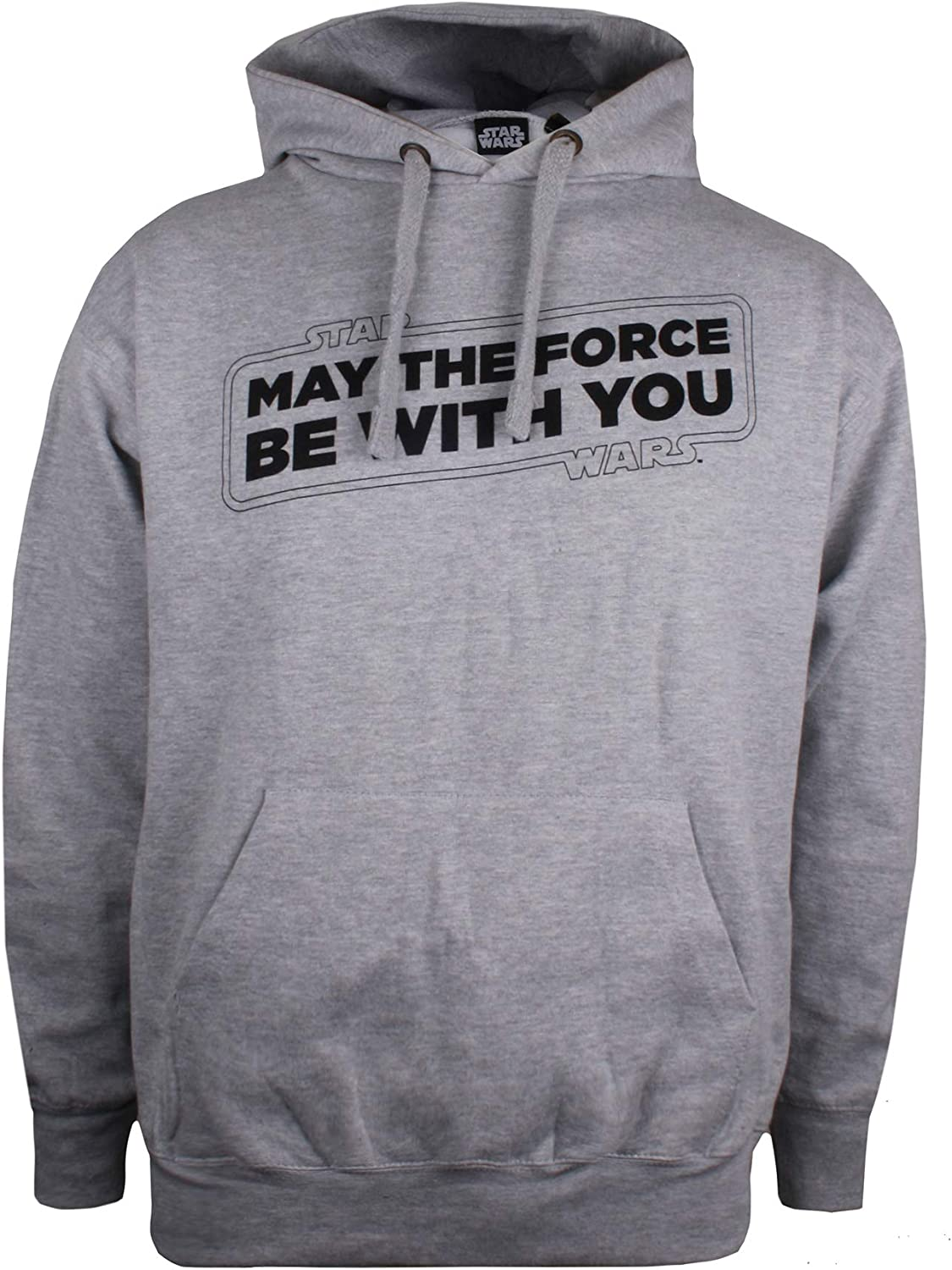 TALLA L. STAR WARS Force Slogan Camiseta para Hombre