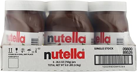 Nutella And Go Hazelnut Spread 4 Count By Nutella Amazon Ca Grocery