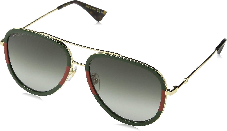 Gucci Sonnenbrille GG0062S-003-57 Aviator Sonnenbrille 57 - Gucci Sonnenbrille Damen