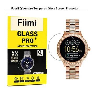 Fiimi fósiles Q Venture Protector de pantalla – Protectores de pantalla de cristal templado Fiimi para