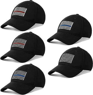 Gorra de béisbol con Bandera de Estados Unidos, Ajustable, Bordada ...