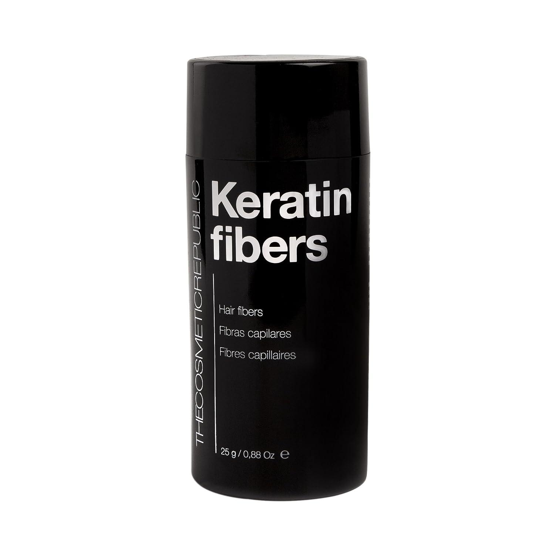 The Cosmetic Republic Keratin Fibers Castaño Medio Cuidado del Cabello - 25 gramos: Amazon.es: Belleza