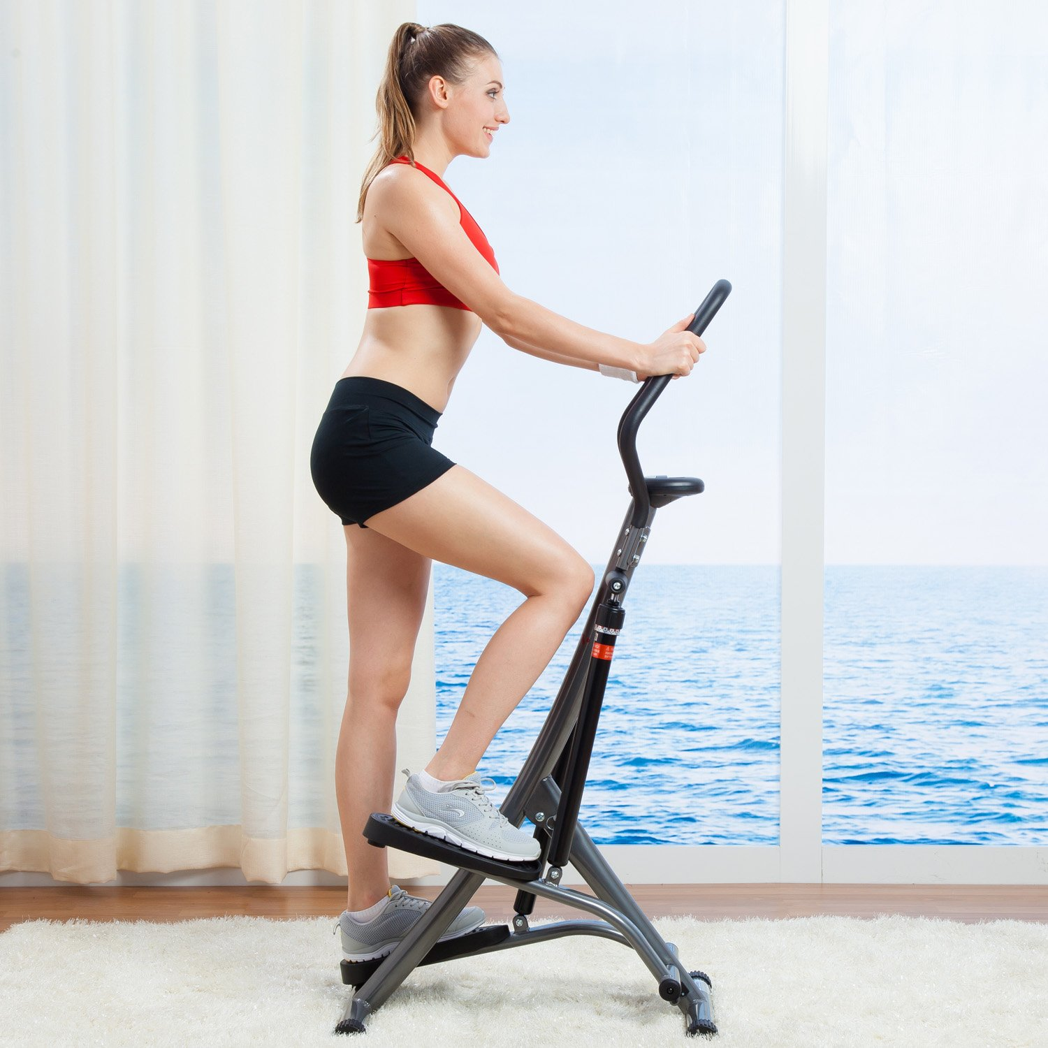 Sunny Health & Fitness Stair Stepper Exercise Equipment Step Machine for Exercise - SF-1115 by Sunny Health & Fitness (Image #2)